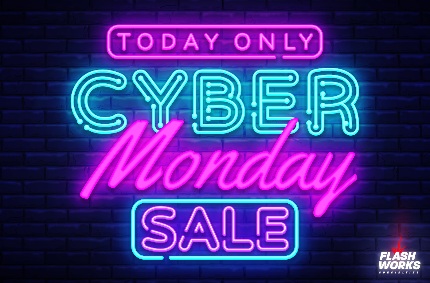 Take 20% off EVERY ITEM in our store during our 2019 Cyber Monday sale!
