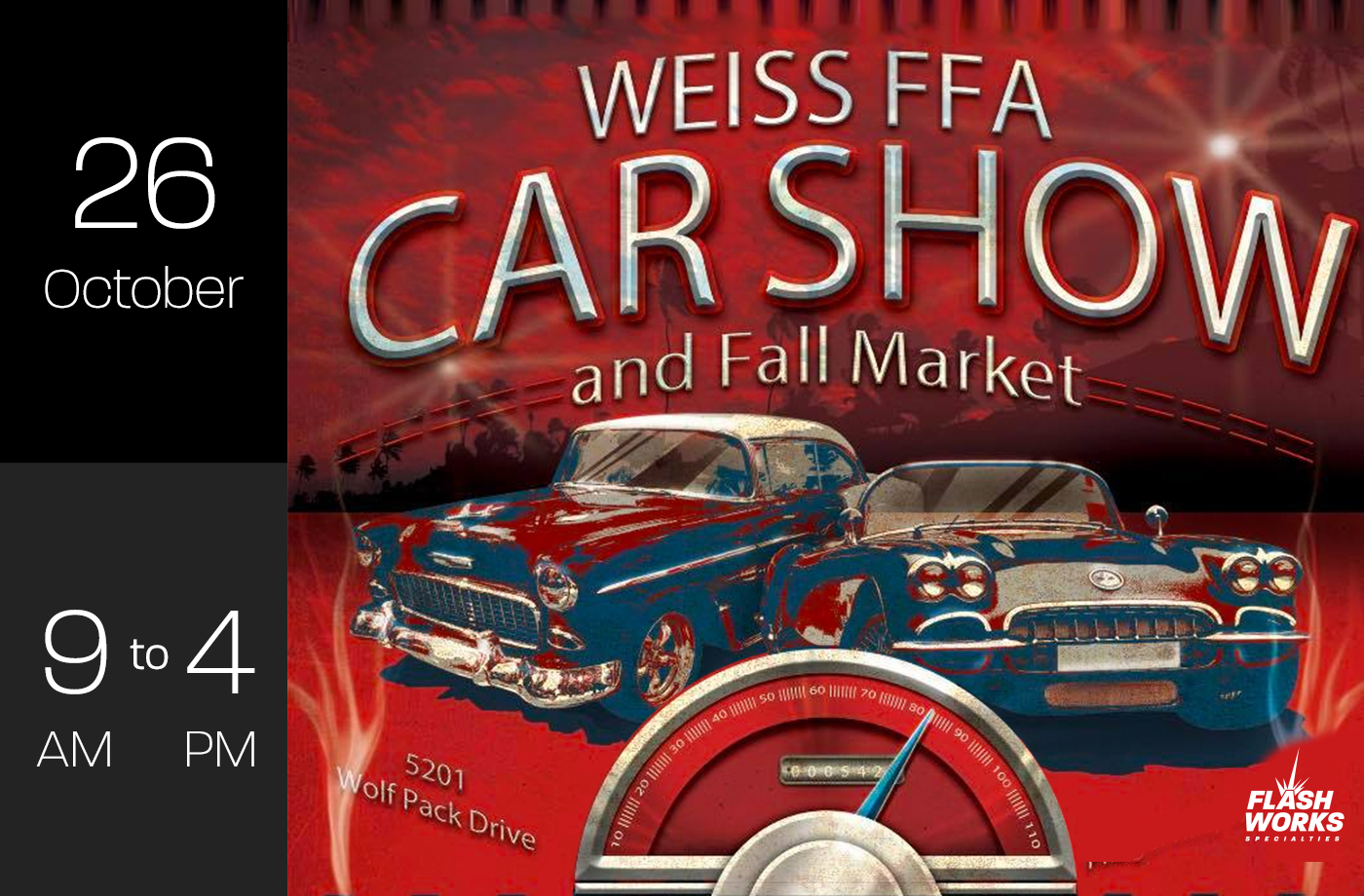 Weiss FFA Car Show and Fall Market in Pflugerville